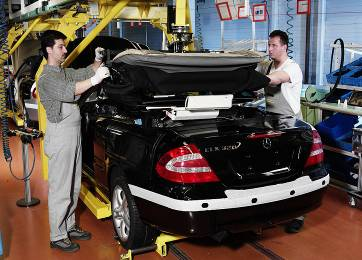 Karmann-Produktion-Mercedes-CLK-Cabrio