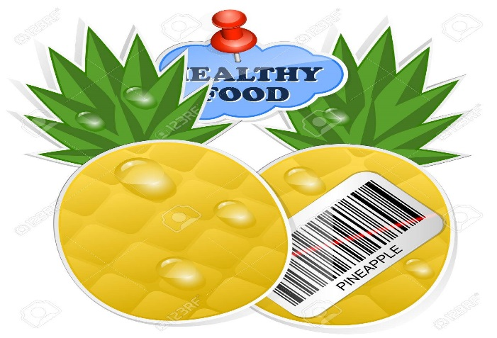 Image result for pineapple barcode